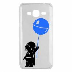 Чехол для Samsung J3 2016 Дарт Вейдер с шариком - FatLine