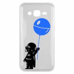 Чехол для Samsung J5 2015 Дарт Вейдер с шариком - FatLine