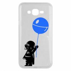 Чехол для Samsung J7 2015 Дарт Вейдер с шариком - FatLine