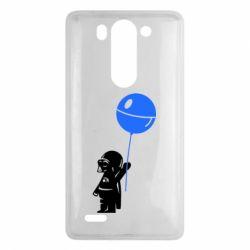 Чехол для LG G3 mini/G3s Дарт Вейдер с шариком - FatLine
