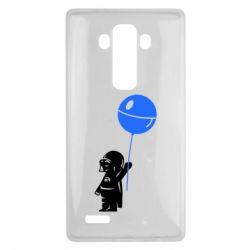 Чехол для LG G4 Дарт Вейдер с шариком - FatLine
