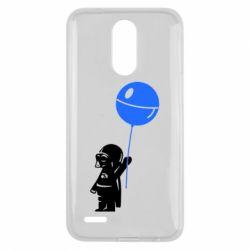 Чехол для LG K10 2017 Дарт Вейдер с шариком - FatLine