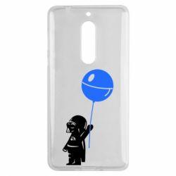 Чехол для Nokia 5 Дарт Вейдер с шариком - FatLine