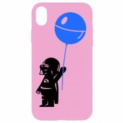 Чехол для iPhone XR Дарт Вейдер с шариком - FatLine