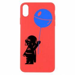 Чехол для iPhone Xs Max Дарт Вейдер с шариком - FatLine