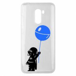 Чехол для Xiaomi Pocophone F1 Дарт Вейдер с шариком - FatLine
