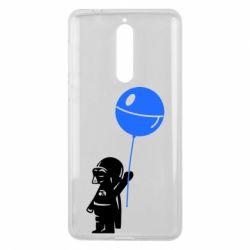 Чехол для Nokia 8 Дарт Вейдер с шариком - FatLine