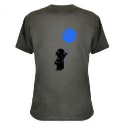 Камуфляжная футболка Дарт Вейдер с шариком - FatLine