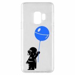 Чехол для Samsung S9 Дарт Вейдер с шариком - FatLine