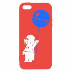 Чехол для iPhone5/5S/SE Дарт Вейдер с шариком - FatLine