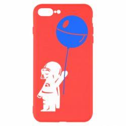 Чехол для iPhone 7 Plus Дарт Вейдер с шариком - FatLine