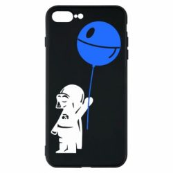 Чехол для iPhone 8 Plus Дарт Вейдер с шариком - FatLine