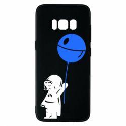 Чехол для Samsung S8 Дарт Вейдер с шариком - FatLine