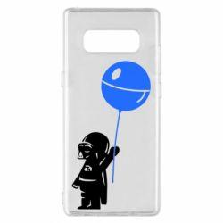 Чехол для Samsung Note 8 Дарт Вейдер с шариком - FatLine