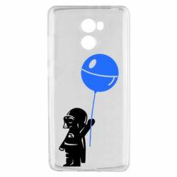 Чехол для Xiaomi Redmi 4 Дарт Вейдер с шариком - FatLine