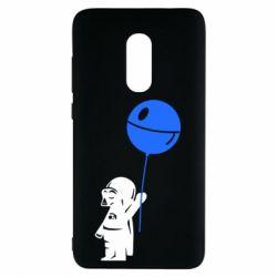 Чехол для Xiaomi Redmi Note 4 Дарт Вейдер с шариком - FatLine
