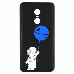 Чехол для Xiaomi Redmi Note 4x Дарт Вейдер с шариком - FatLine