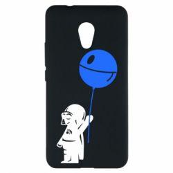 Чехол для Meizu M5s Дарт Вейдер с шариком - FatLine