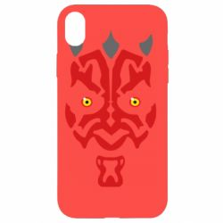 Чохол для iPhone XR Darth Maul Face