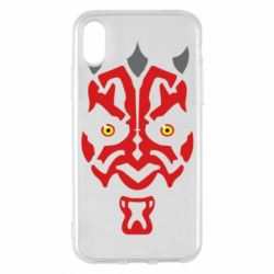 Чохол для iPhone X/Xs Darth Maul Face
