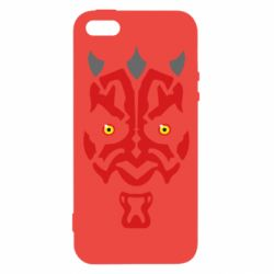 Чохол для iphone 5/5S/SE Darth Maul Face