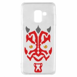 Чохол для Samsung A8 2018 Darth Maul Face