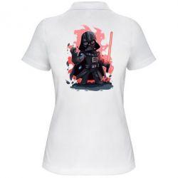 Женская футболка поло Darth Vader Force - FatLine