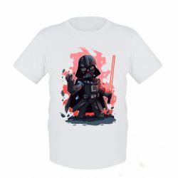 Детская футболка Darth Vader Force - FatLine