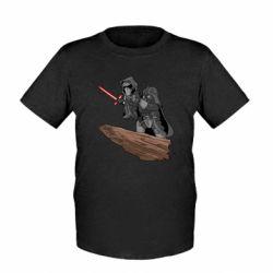 Детская футболка Darth Vader & Kylo Ren