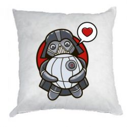 Подушка Darth Vader love Death Star - FatLine