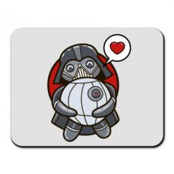 Коврик для мыши Darth Vader love Death Star - FatLine