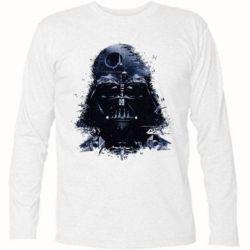 Купить Футболка с длинным рукавом Darth Vader Space, FatLine