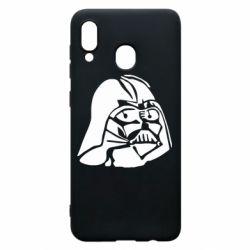 Чехол для Samsung A20 Darth Vader