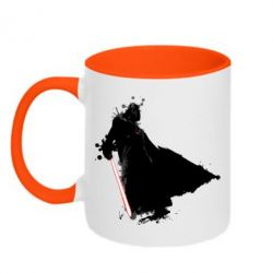 Кружка двухцветная Darth Vader