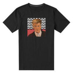Чоловіча стрейчева футболка David lynch