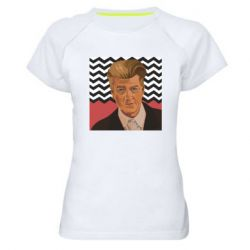 Жіноча спортивна футболка David lynch