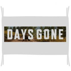 Флаг Days Gone and game background
