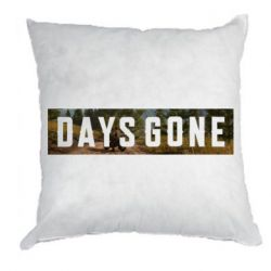 Подушка Days Gone and game background