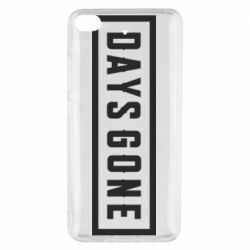 Чехол для Xiaomi Mi 5s Days Gone color logo