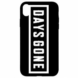Чохол для iPhone XR Days Gone color logo