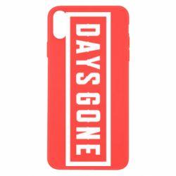 Чехол для iPhone Xs Max Days Gone color logo