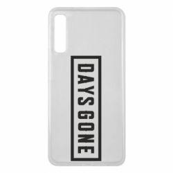 Чехол для Samsung A7 2018 Days Gone color logo