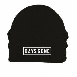 Шапка на флисе Days Gone color logo