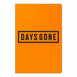 Блокнот А5 Days Gone color logo