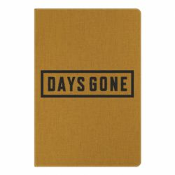 Блокнот А5 Days Gone color logo