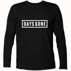 Футболка с длинным рукавом Days Gone color logo