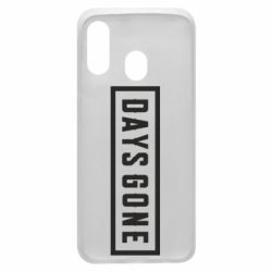 Чохол для Samsung A40 Days Gone color logo