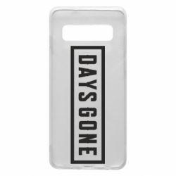 Чехол для Samsung S10 Days Gone color logo