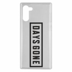 Чохол для Samsung Note 10 Days Gone color logo
