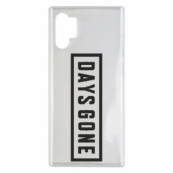 Чехол для Samsung Note 10 Plus Days Gone color logo